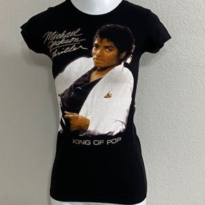 Vintage Michael Jackson Thriller T-Shirt Size XXS